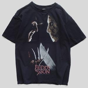 00年代 フレディ VS ジェイソン ホラー Tシャツ M
