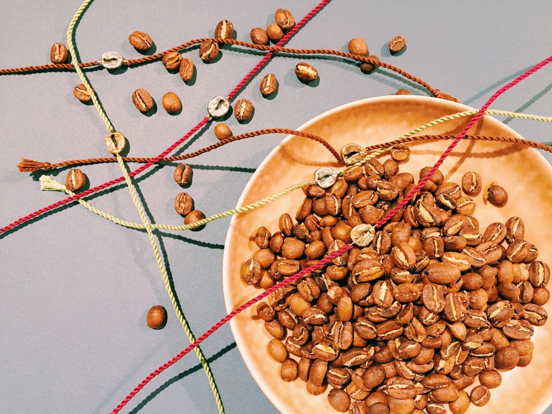 Coffee Beans Bracelet 【 SILVER 】
