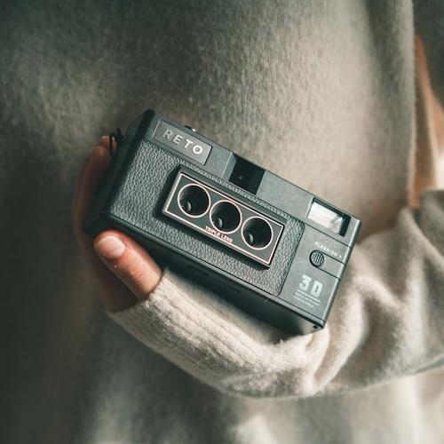【新品】RETO 3D レトロフィルムカメラ 立体3Dカメラ