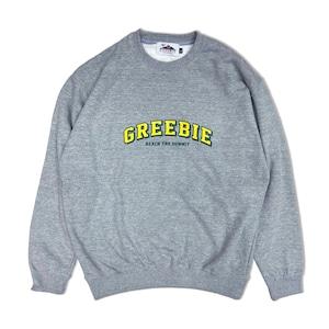 College logo Sweat【Gray】