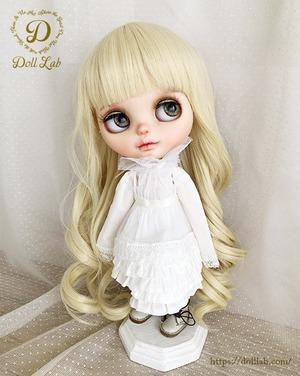 プリンセストルタ[12inch 髪ありブライス ]ミルクゴールド  DWL004-A002-12in