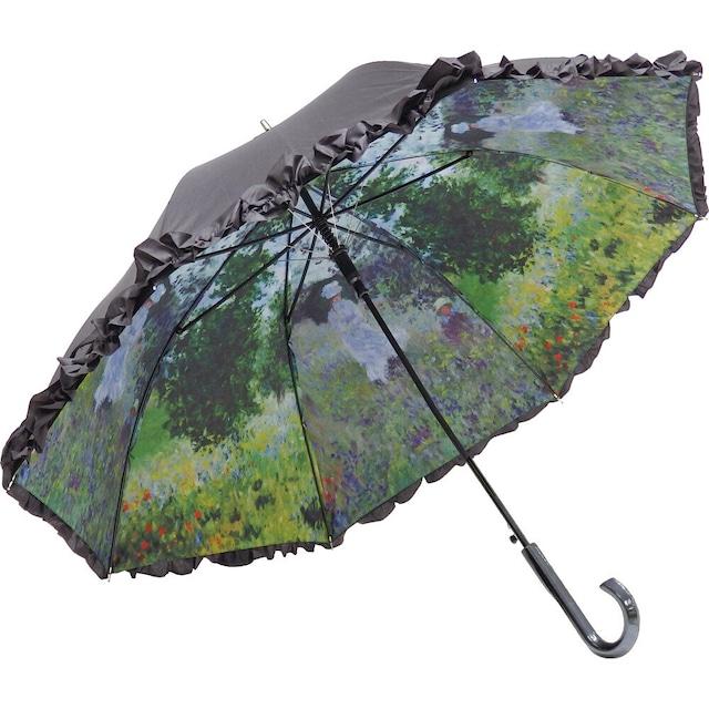 傘 晴雨兼用 UVカット【モネ 散歩 傘】浜松雑貨屋C0pernicus
