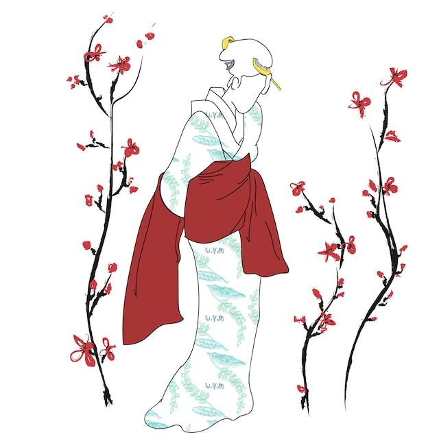 KIMONO Tee 【UYAMA】