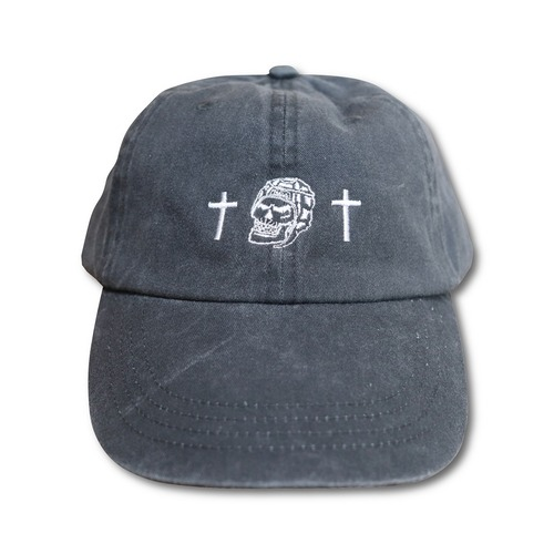 RUGBY SKULL Low Cap Black