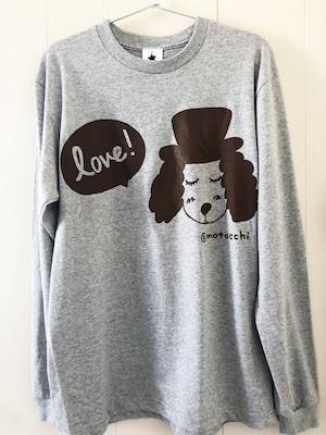 Love! ロングスリーブ T-Shirt