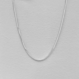 【SV1-59】16inch silver chain necklace