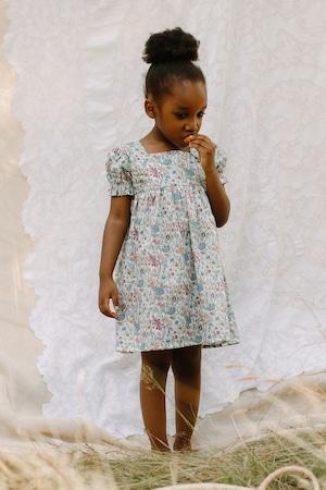Nellie Quats Marbles Dress - Rachel Liberty Print