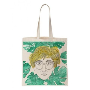 COOL AND THE BAG (クールアンドザバッグ) フランス製 コットン100% トートバッグ 【Andy Warhol】