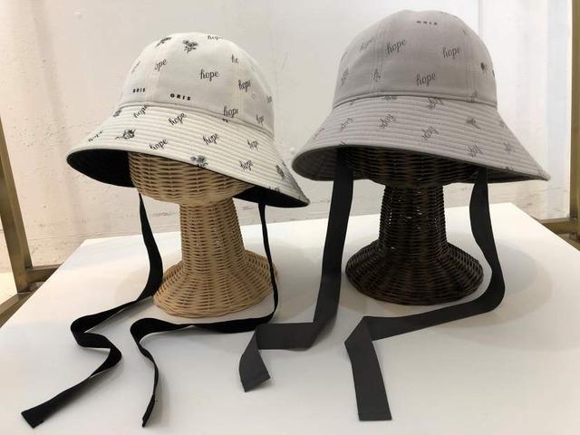 【21AW】GRIS ( グリ )bellHat[S/M]HatEcru Lavender 帽子 ハット