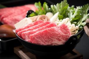 若狭ナカノ牛 赤身すき焼き 600g 【化粧箱入り + オリジナル風呂敷】