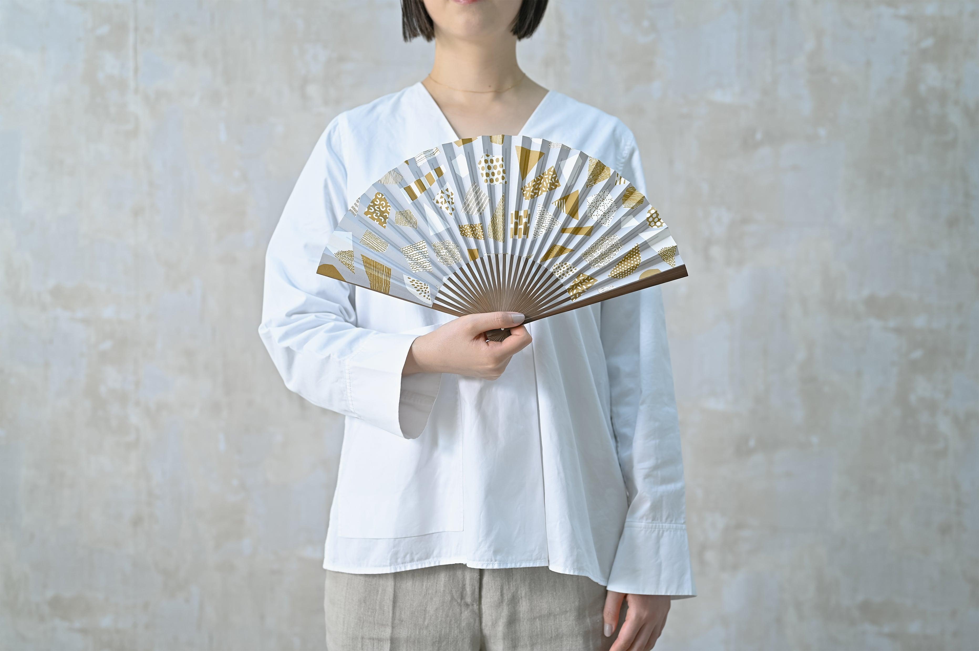 [Men's] UMO#1 山吹茶 Yamabukicha 扇子
