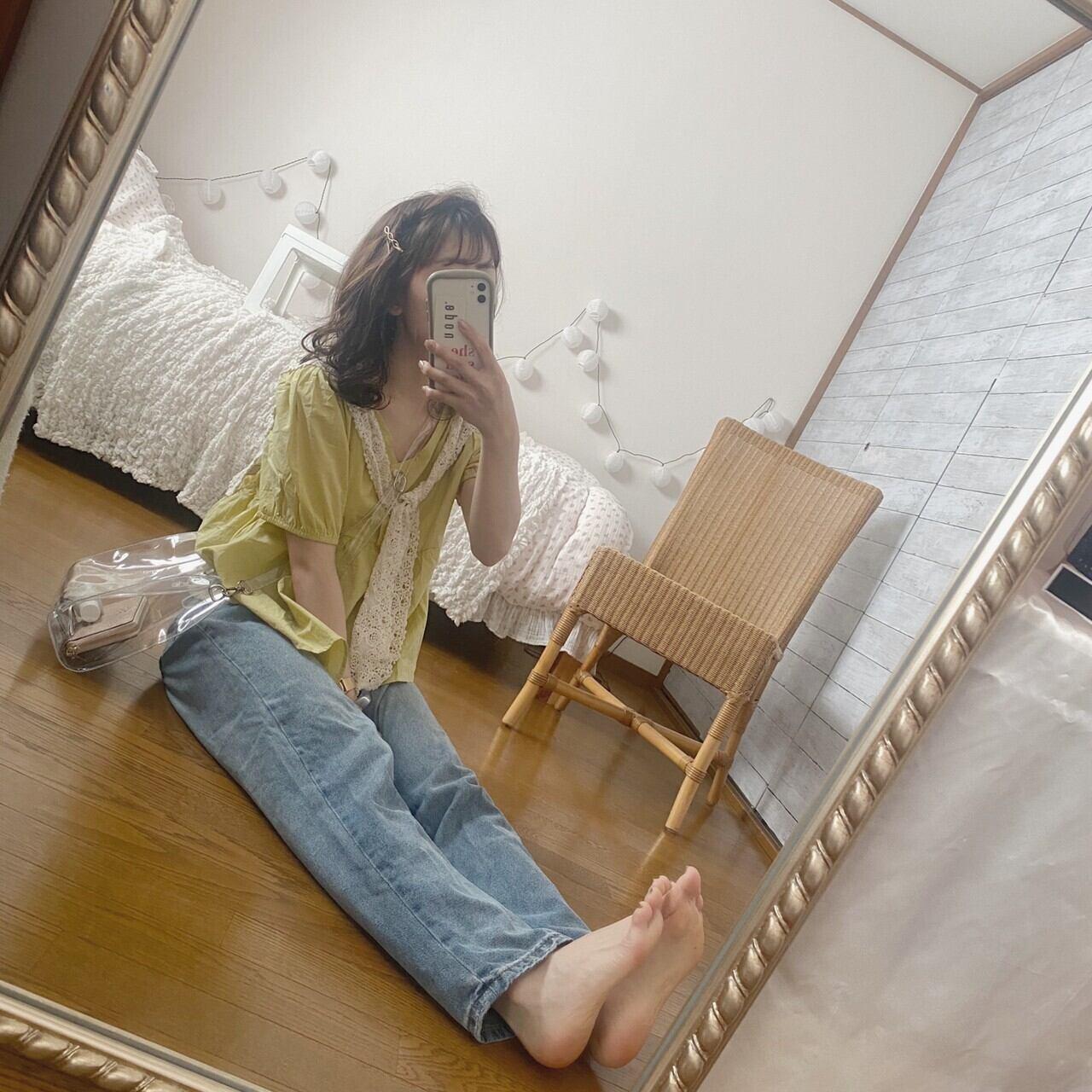 simple design blouse[7/22n-16]