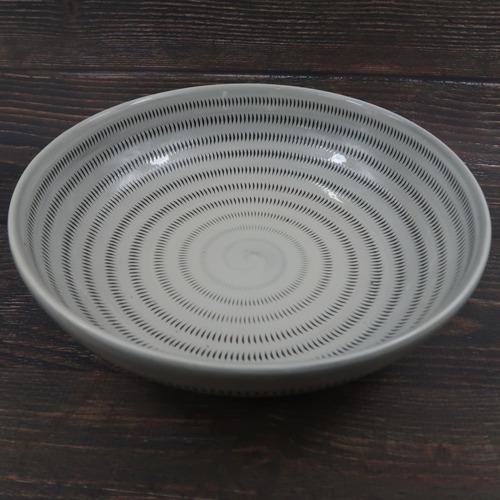 小石原焼 7寸鉢 大 トビカンナ 上鶴窯