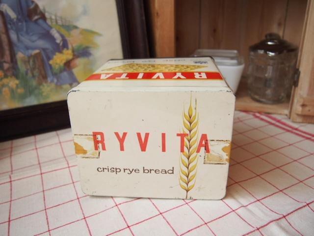 イギリスアンティーク クリスプブレッド缶