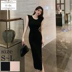 No.1175 きれいめワンピース 韓国ワンピース 大人可愛いワンピース タイトワンピース 2color