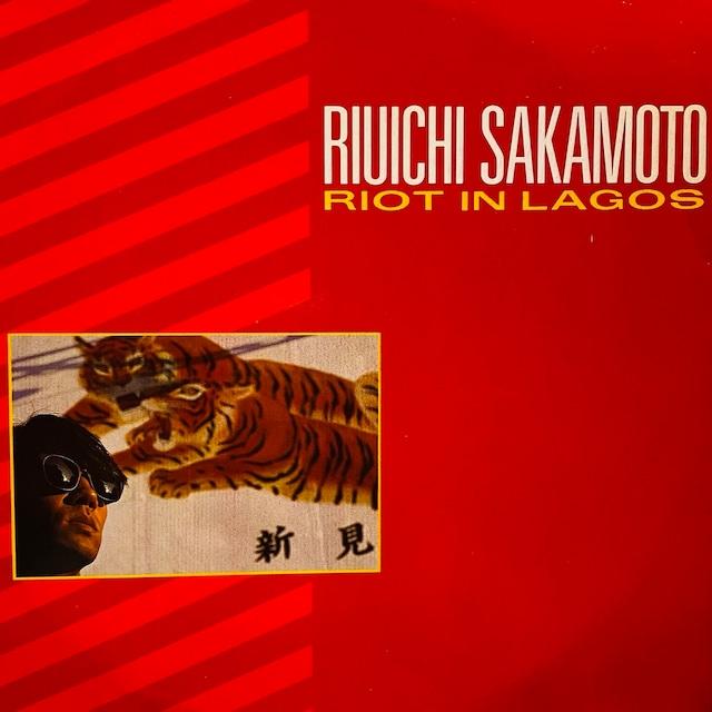 【12inch・英盤】Riuichi Sakamoto / Riot In Lagos