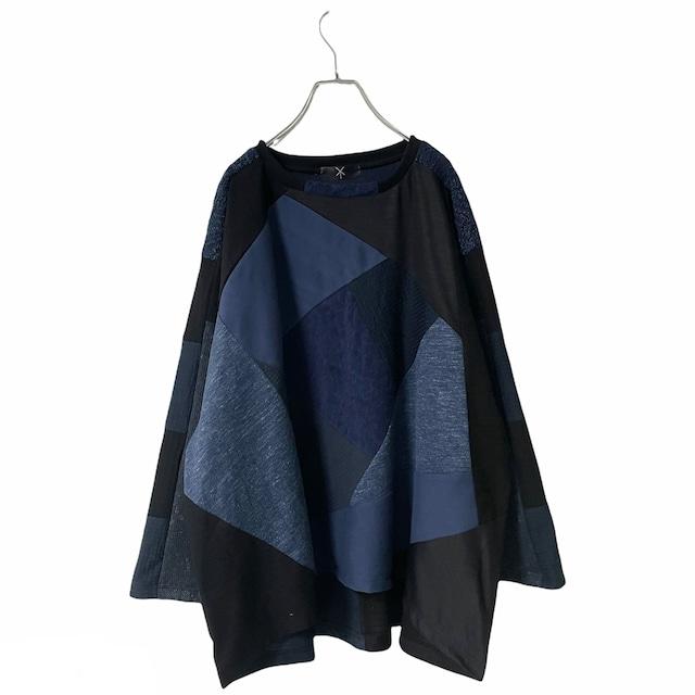 Wide-T-shirts1.1 (black/navy)