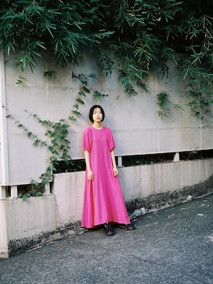 【再入荷】SARA DRESS - MEXICAN PINK