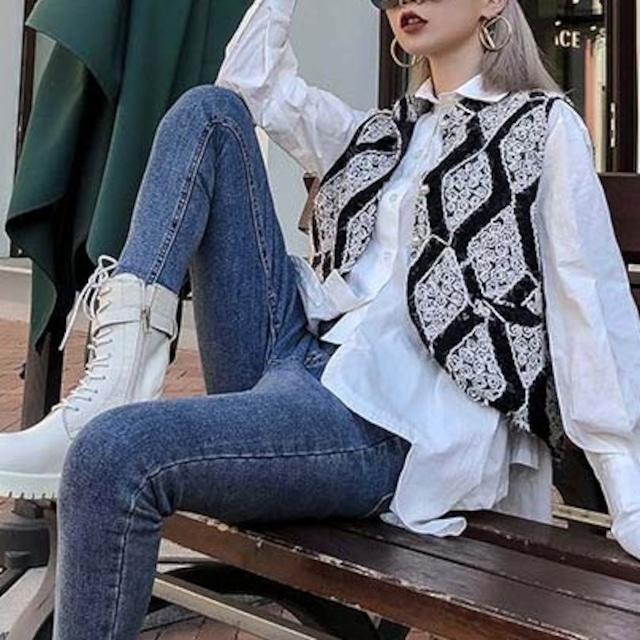 Retro design vest KRE680