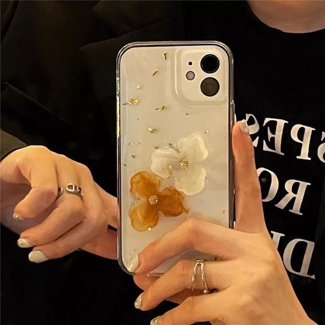 Gorgeous Retro flowers iphone case