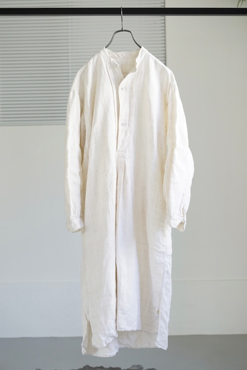 <SOLD OUT>French Antique Linen Smock Shirt, Early 20th century