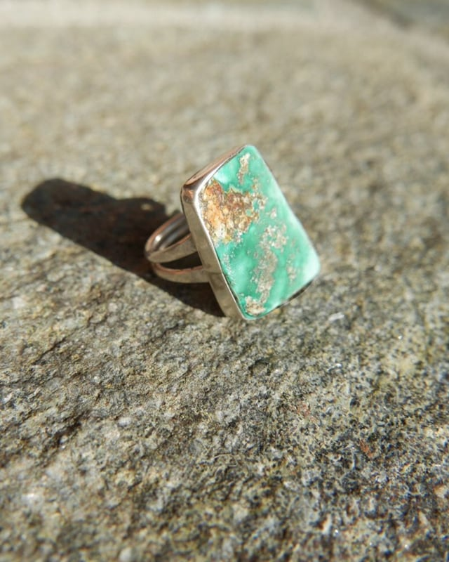 Turquoise silver ring ターコイズ リング