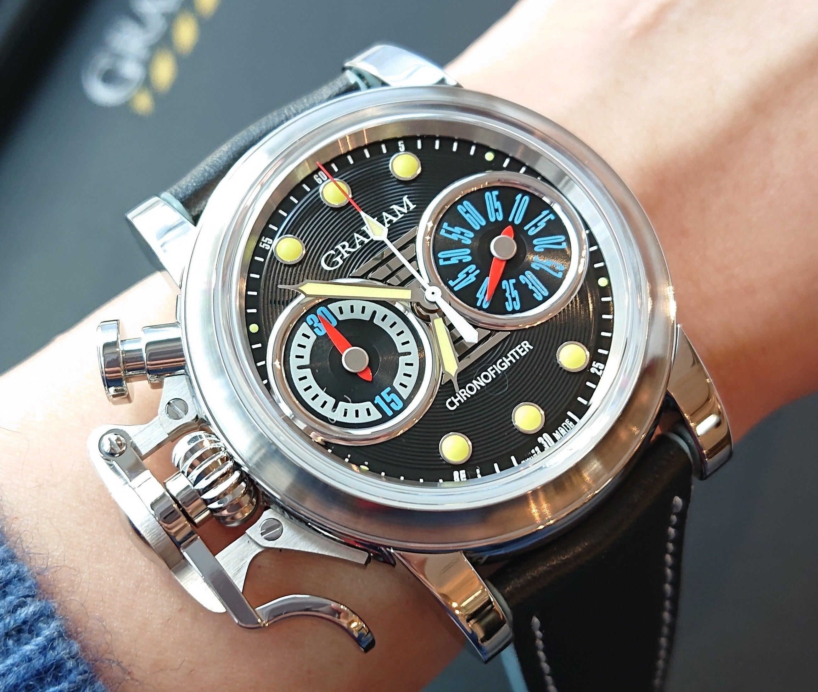 【GRAHAM グラハム】世界限定25本 Chronofighter Vintage Stingray クロノファイターヴィンテージ スティングレイ/国内正規品 腕時計