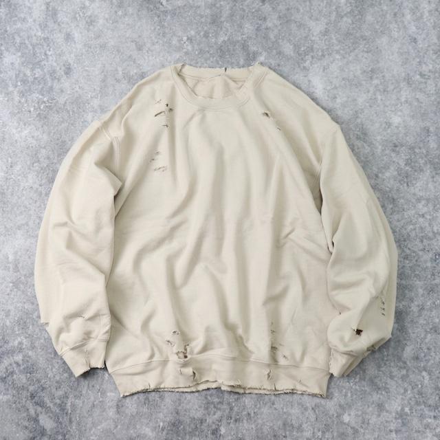""" BORO ""   Sweat  Shirt   GREIGE B81"