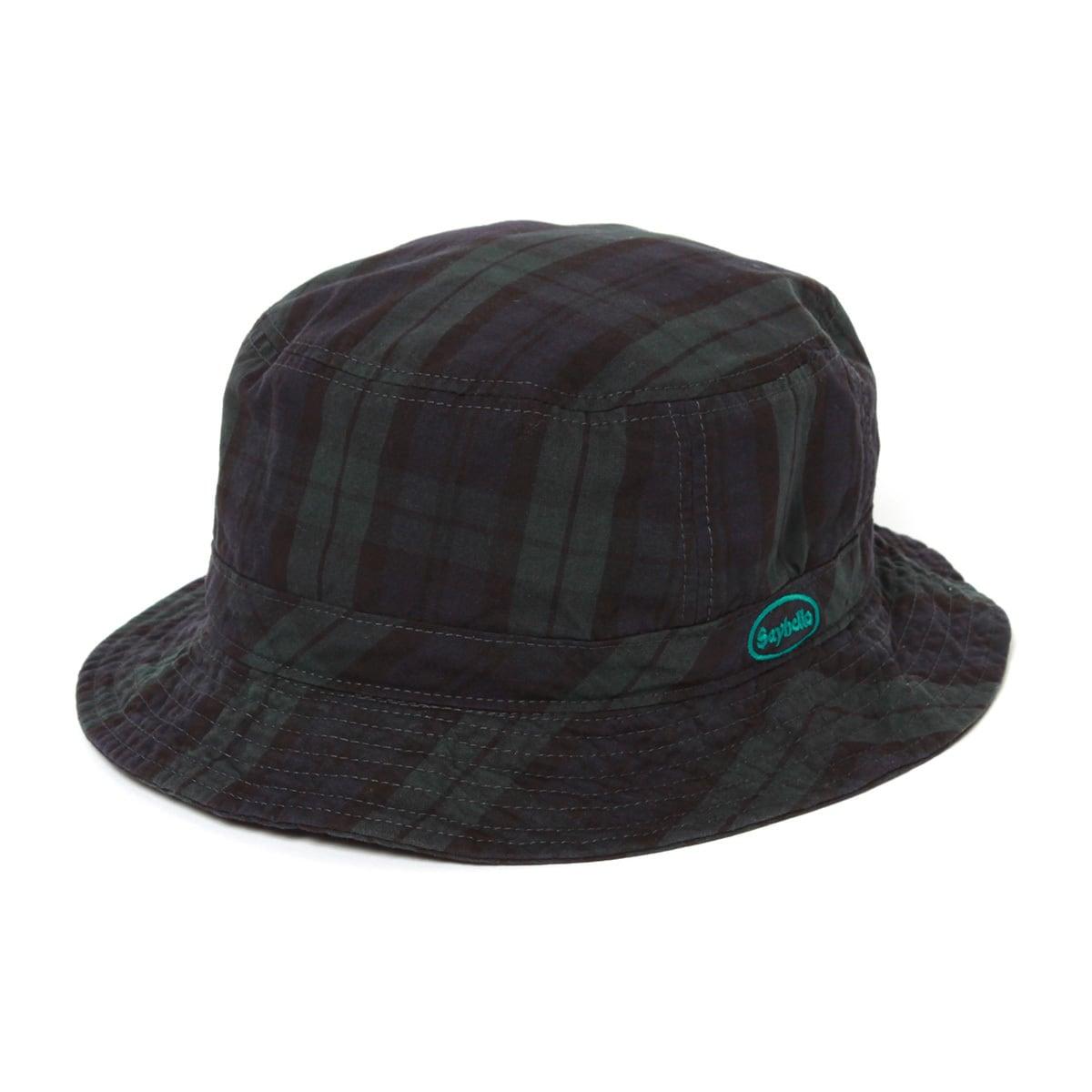 SAYHELLO/Check Washed Hat