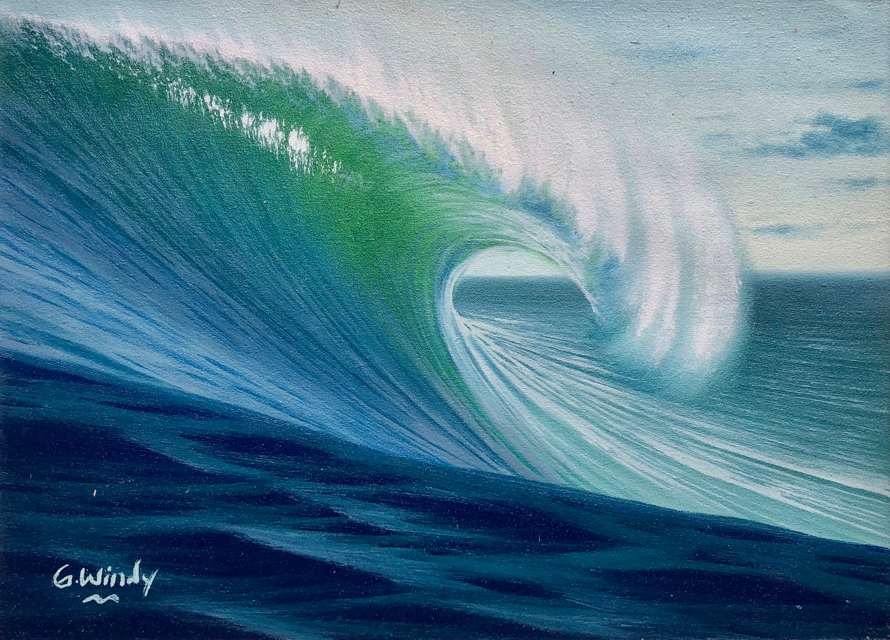 Dreamland Wave Art F4
