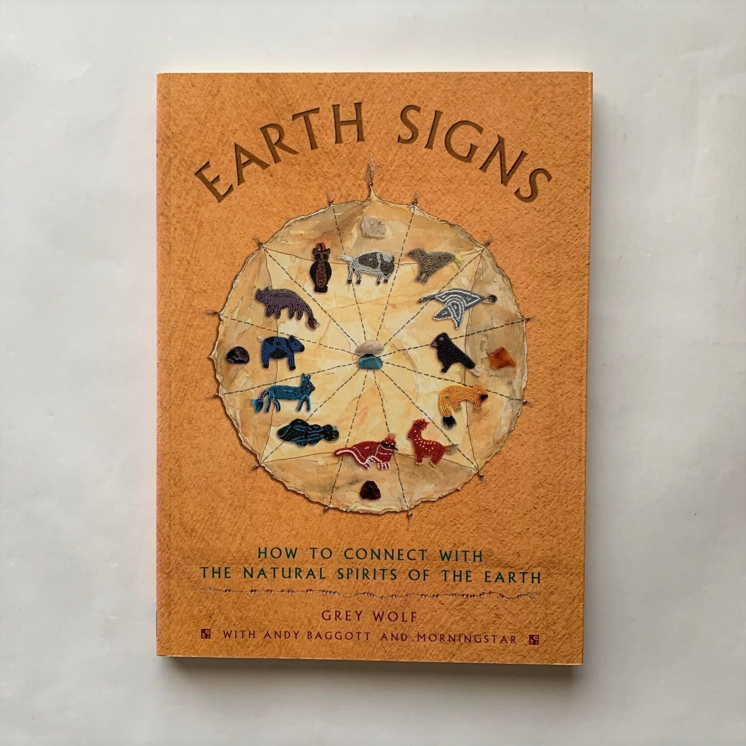 Earth Signs: How to Connect with the Natural Spirits of the Earth by Grey Wolf, Andy Baggott