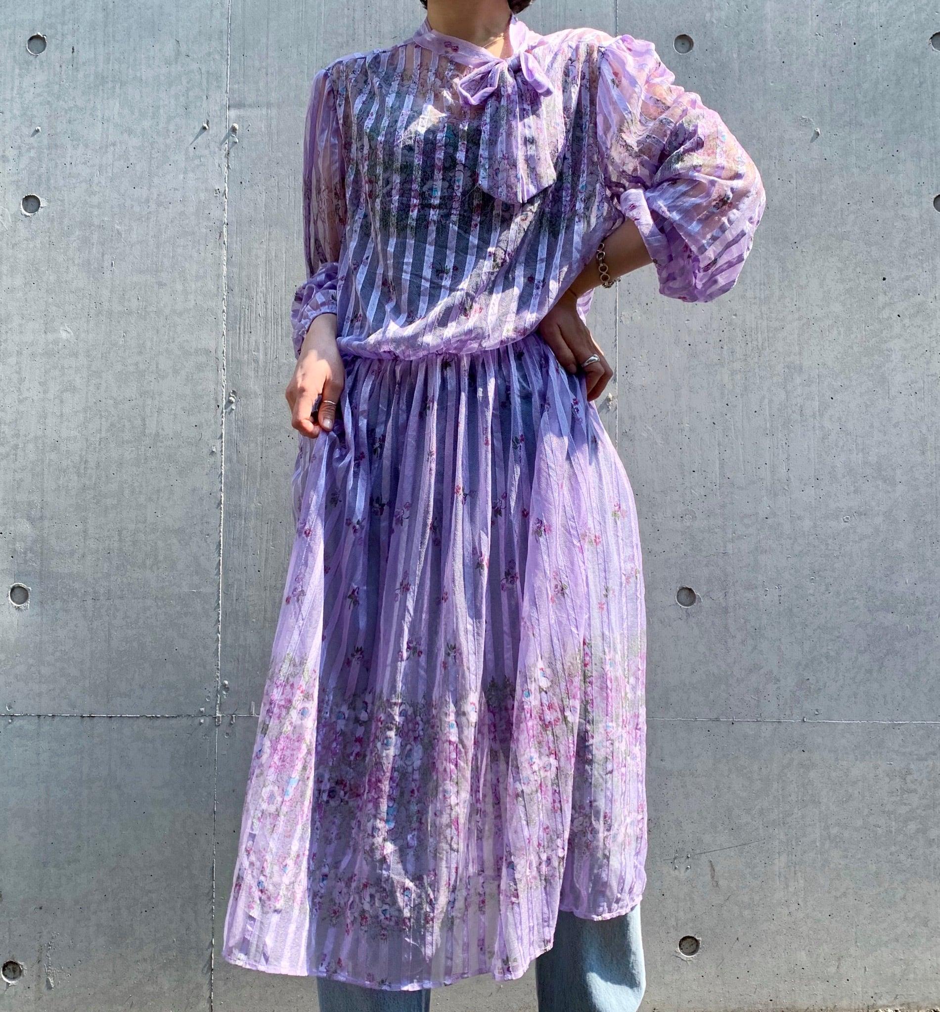 """""""Sears"""" vintage sheer dress"""