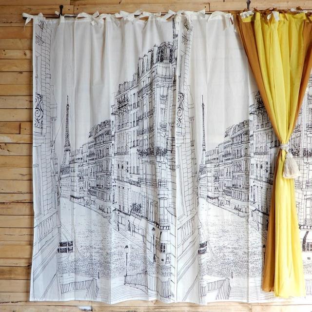 ランドスケープ カーテン 110×180cm パリ