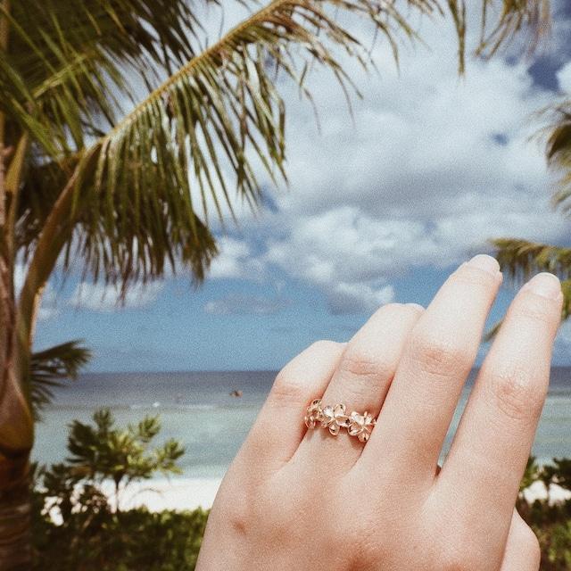 Hawaiian Flower Ring《PGD》19380004【9号/10号】