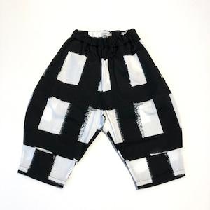 【21SS】フランキーグロウ ( frankygrow )ORIG CHECK BIG PANT[ F]white-black パンツ