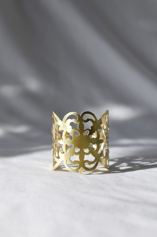 Handcrafted Hair Hook arabesque - Radial - ヘアフック -ラディアル- Gold