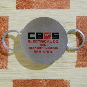アメリカ電気会社CBES ELECTRICAL CO.[シービーイーエス エレクトリカル カンパニー ]ZIPPOキーホルダー