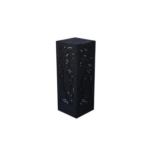 ミニ行灯 レギオン - 置き型照明 Mサイズ ブラック