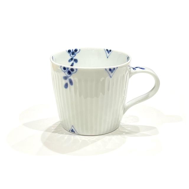染付剣先小花 マグカップ