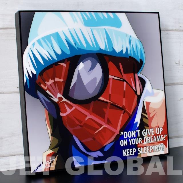 スパイダーマン/ SLEEPING SPIDERMAN / Lサイズ 52cm / PAPMA_0031