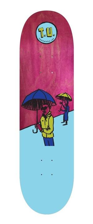 T.U. Rainy Day Deck 8.25 transportationunit