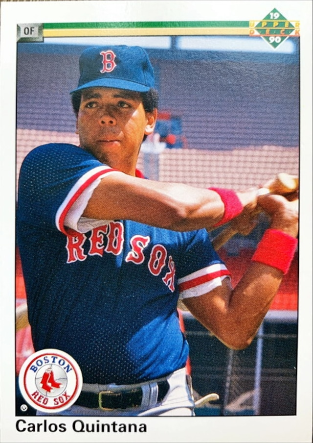 MLBカード 90UPPERDECK Carlos Quintana #465 RED SOX