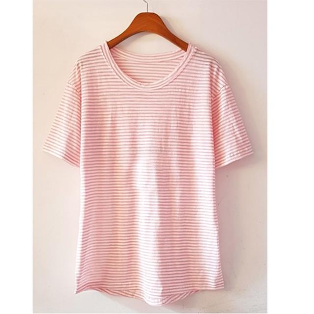 《SALE》 デイリー ゆったり ボーダー Tシャツ★7色