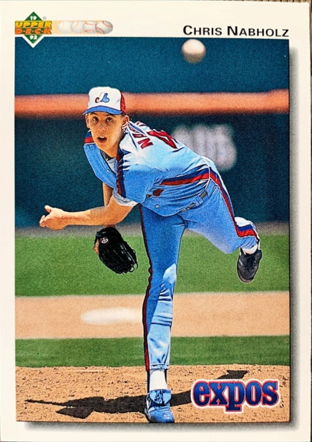 MLBカード 92UPPERDECK Chris Nabholz #579 EXPOS