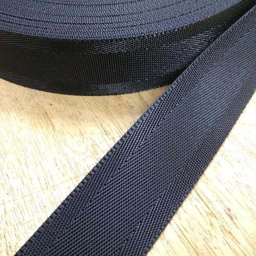 ナイロン ベルト シート織 50mm幅 1.3mm厚 5m 黒