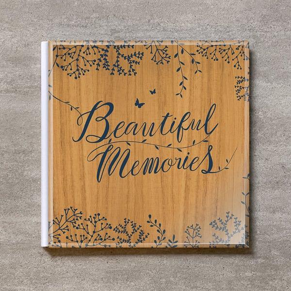 Tree's Board(Light brown)-FAMILY_A4スクエア_10ページ/20カット_クラシックアルバム(アクリルカバー)