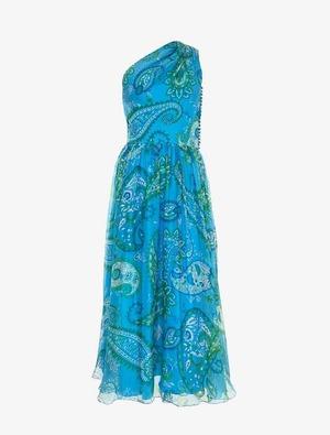 Christian Dior クリスチャンディオール ワンショルダー ドレス