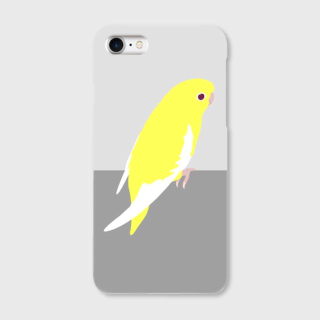 iPhoneケース サザナミインコ ルチノー 【各機種対応】