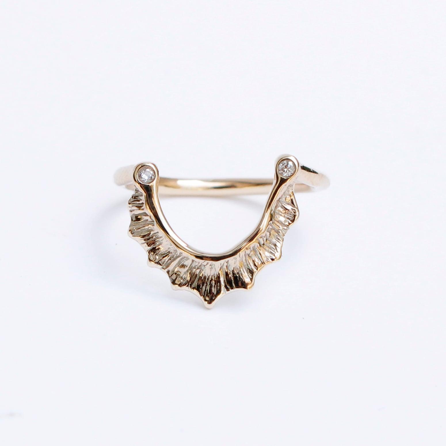 conoa (コノア) あまだれの指飾り gold