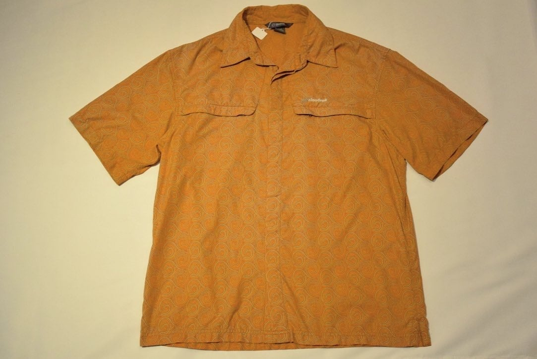 USED 00s CloudVeil S/S Shirt -Small 01040
